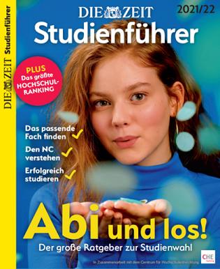 Cover DIE ZEIT Studienführer 2021/22